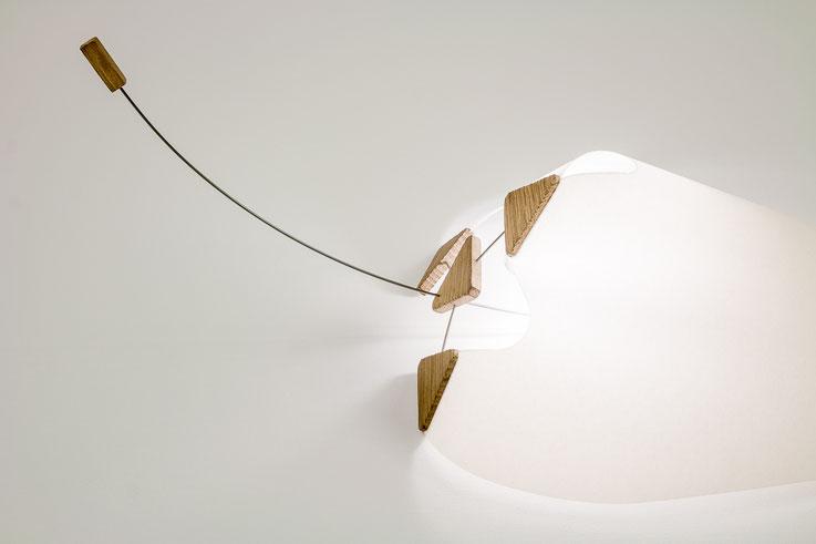 luminaire design original bois papier metal mw mathieu widloecher balane