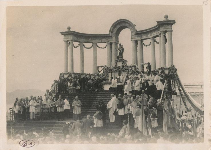 Couronnement Notre-Dame du Suquet, Cannes 1932