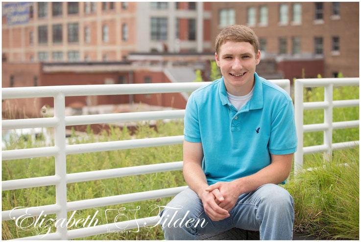 Kanas City senior photographer, high school senior, north kansas city high school, Kansas City library, rooftop