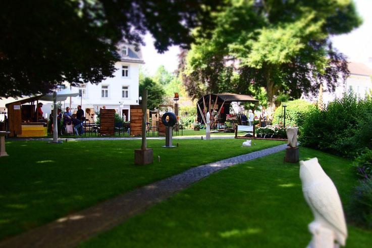 Ausstellung / Bischofszeller Rosenwoche / Skulpturengarten / Skulpturenausstellung in der Ostschweiz/