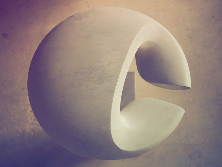 Andreas Lindegger / Marmor Skulptur/ Mannenbach salenstein / Art / Kunst in Stein/