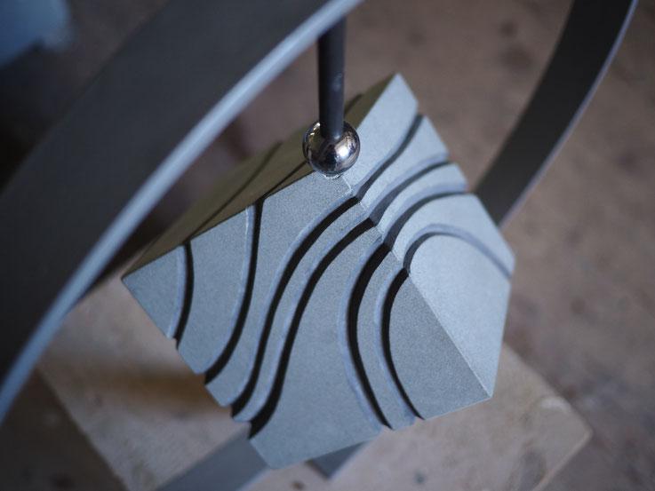 Halbwürfel/ Stone Sculpture/ Stein Skulptur/ Bildhauer / Andreas Lindegger/