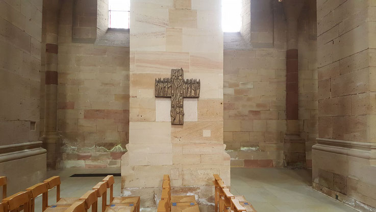 Das Otterberger Kreuz in der Abteikirche Otterberg, Bild: H.Forsch