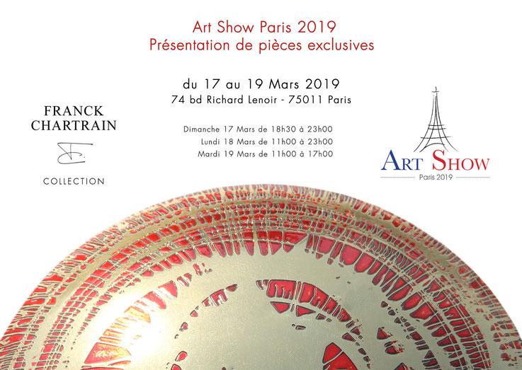 Art Show Paris 2019.  17-18-19 Mars.