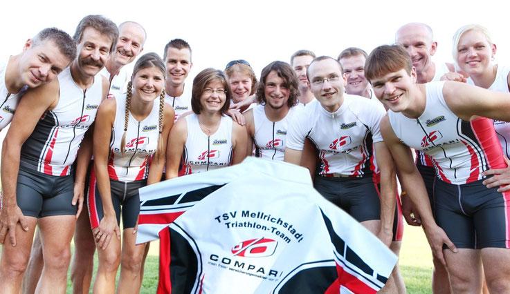 Das Team der TSV-Trathleten