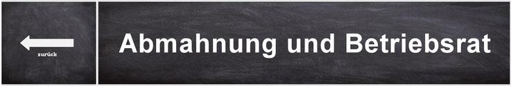 Abmahnung Und Betriebsrat Brbildung Der Bildungskanal Für Den