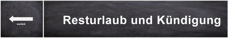 Resturlaub Und Kündigung Brbildung Der Bildungskanal Für Den