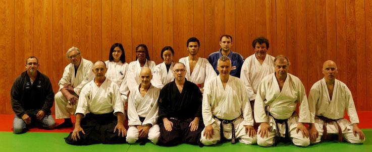 Cours du 3ème samedi consacré au Goshin-Jujutsu japonais traditionnel