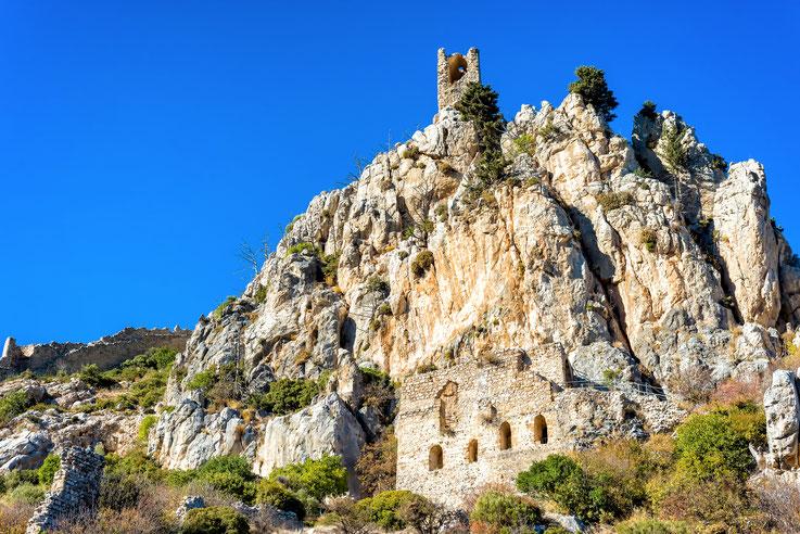 Saint Hilarion - Schloss - Zypern