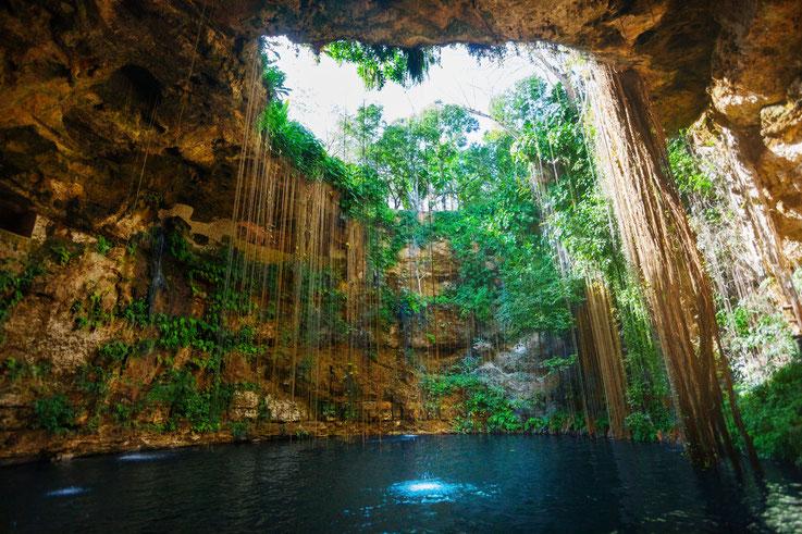 cenote reise mexiko