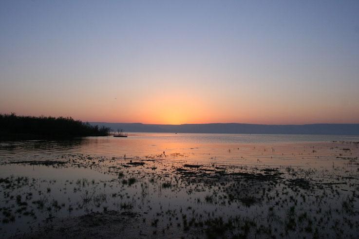 See Genezareth - Hier wirkt Jesus sehr intensiv -