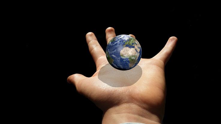 Meditation Erde
