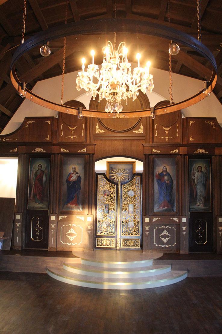 静岡ハリストス正教会 イコノスタシス