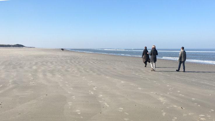 Breathwalk am Langeooger Strand