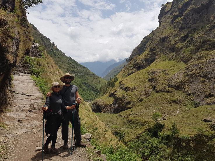 Nepal - Himalaya, Manaslu Circuit - 8 Stunden Gehmeditation jeden Tag - 11 Tage insgesamt
