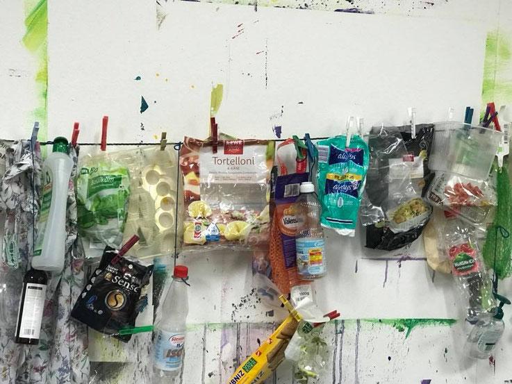 Plastik sparen, plastikfrei, zerowaste, Frankfurt, Petra Kress, Atelier Farbspiel