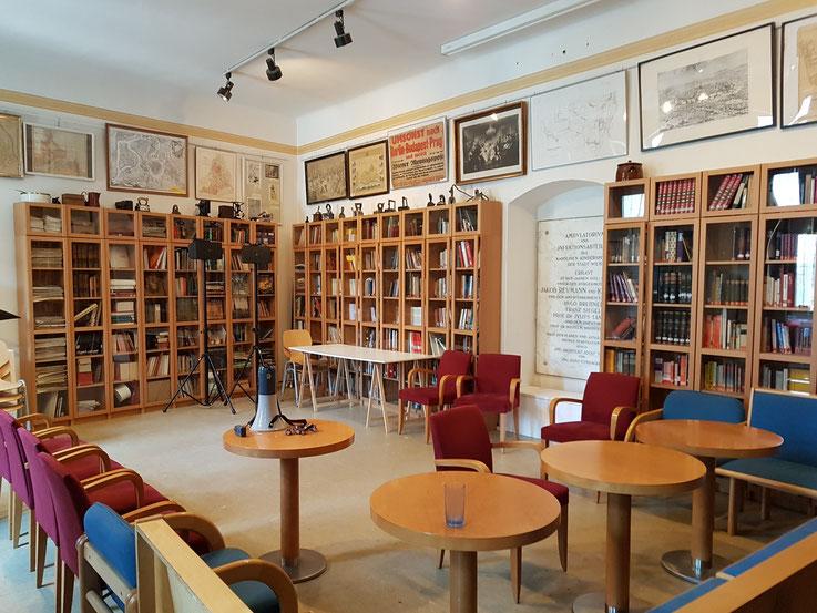 Bibliothek Bezirksmuseum Alsergrund