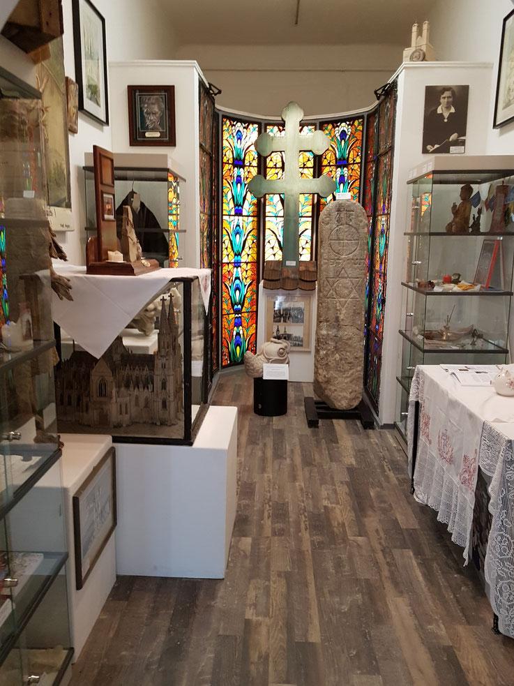 Raum der Religionen im Bezirksmuseum Alsergrund