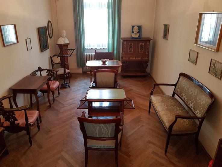 Heimito von Doderer  Wohnzimmer / Arbeitszimmer