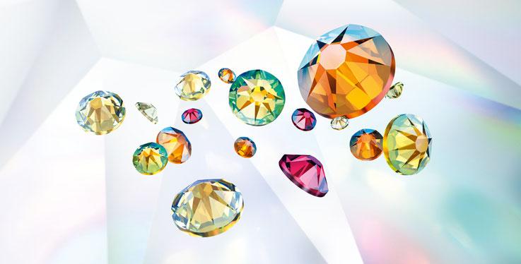 swarovski 2038 2078 crystal shimmer shim  hotfix