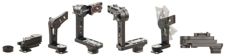 Übersicht pocketPANO Nodalpunktadapter