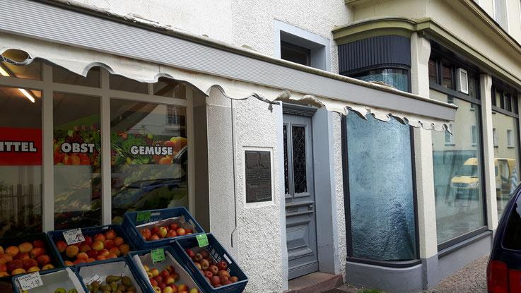 Standort der Gedenktafel in der Attendorner Innenstadt