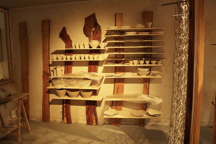 Keramikatelier Innenarchitektur