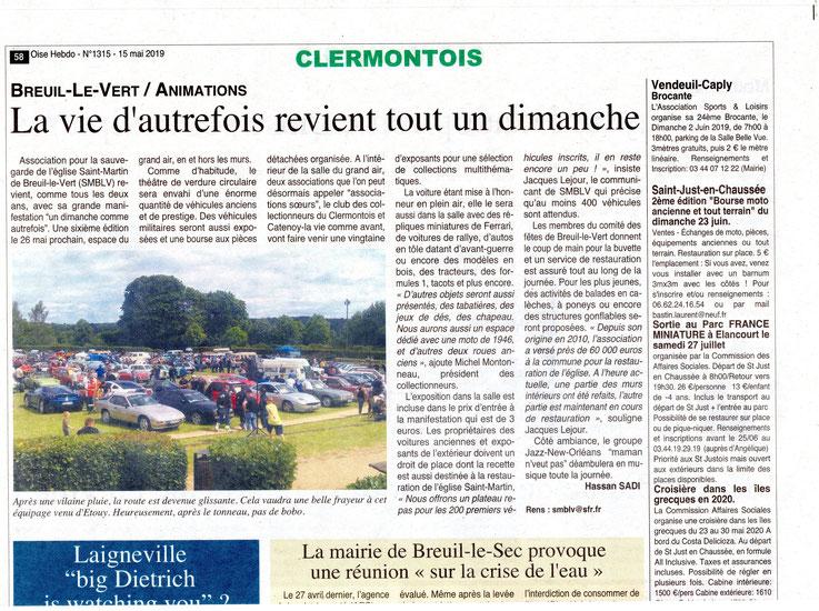 15 mai 2019 - Oise Hebdo