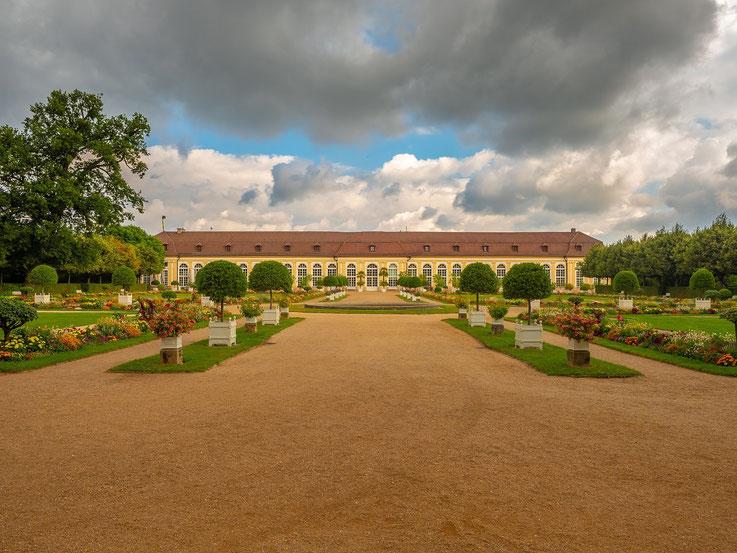 Die Orangerie in Ansbach