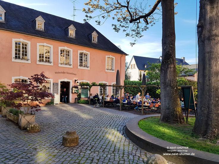 Weinstube Kesselstatt in Trier, direkt am Dom gelegen / The Weinstube Kesselstatt located right next to the Cathedral of Trier