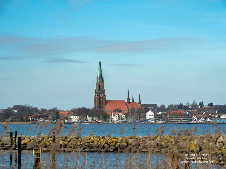 Blick auf Schleswig miit Dom