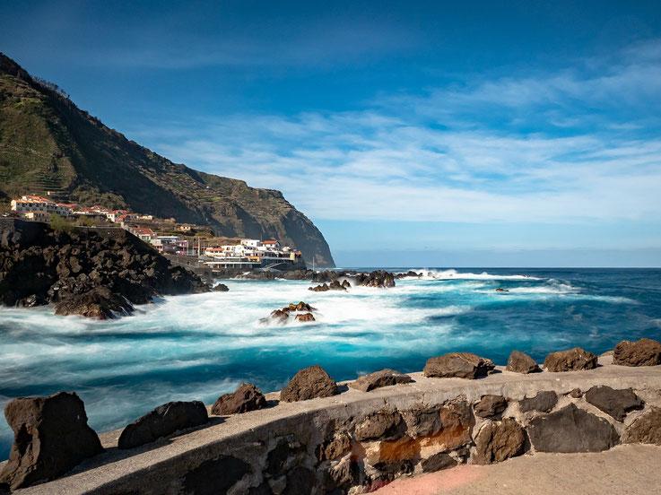 Porto Moinz an der Nordküste