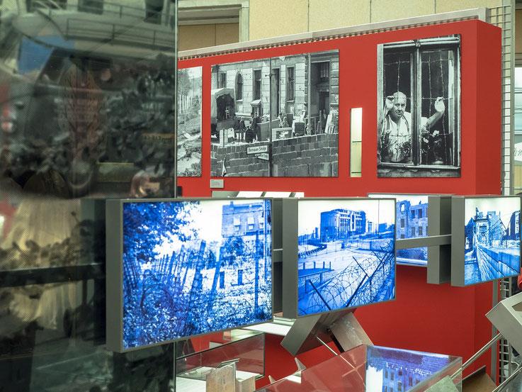 Der Mauerbau 1961 wird ausführlich thematisiert