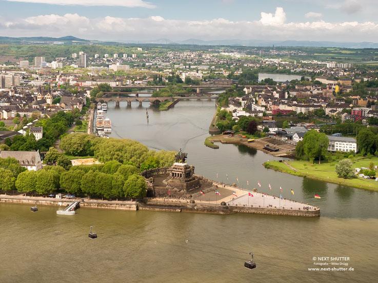 """""""Deutsches Eck"""", Koblenz"""