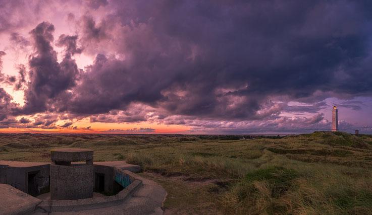 Sonnenaufgang am Leuchtturm von Blavand
