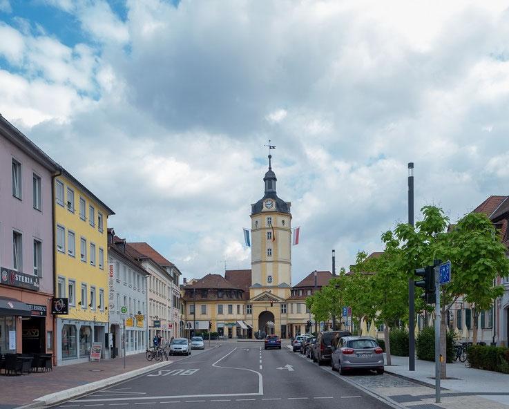 Das Herrider Tor in Ansbach