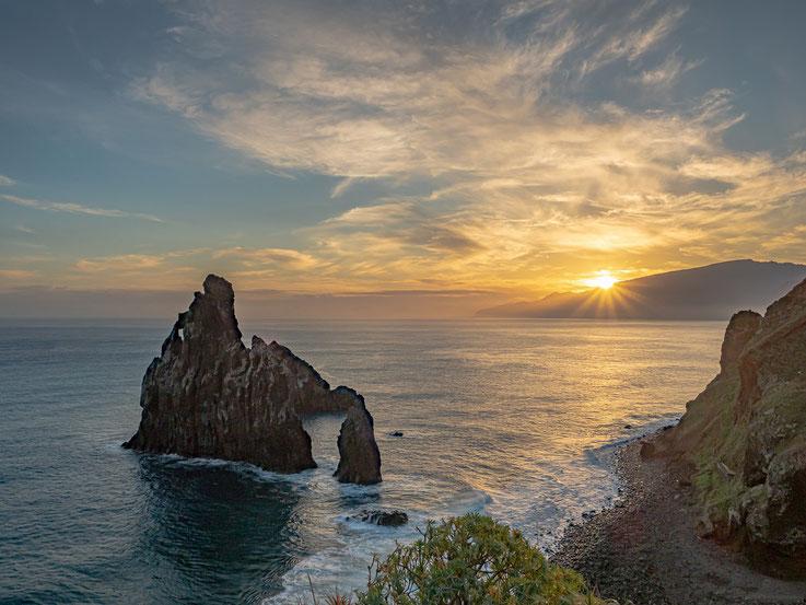 Sonnenaufgang Ribeiro da Janela and der Nordküste