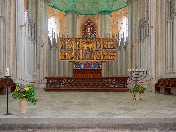 Der Altar der Marienkirche