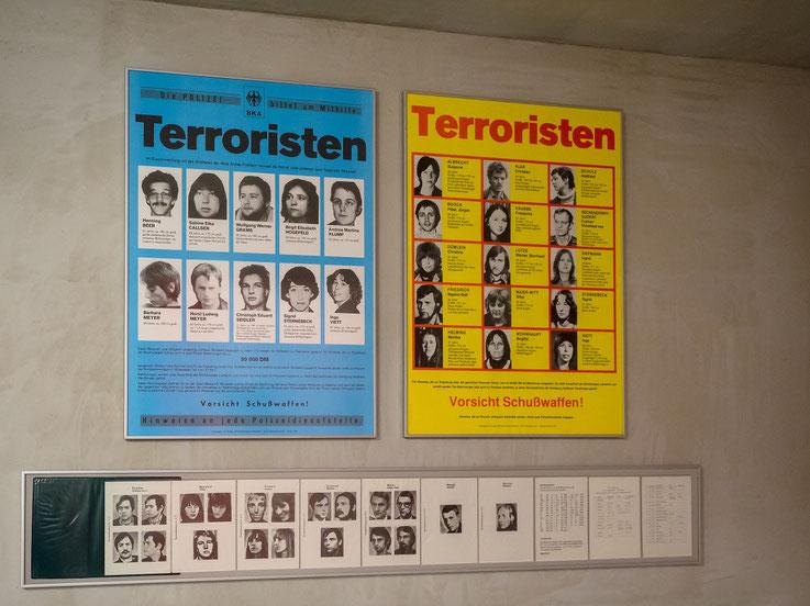 """Der """"Deutsche Herbst"""" 1977. Er gipfelte in der Entführung der Lufthansa B737 """"Landshut"""" und der Ermordung Hans - Martin Schleyers"""