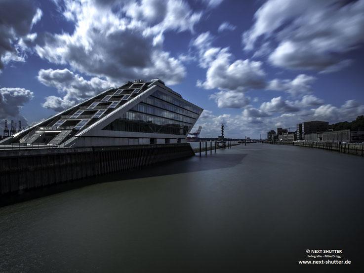 Das Dockland Gebäude am Fischereihafen