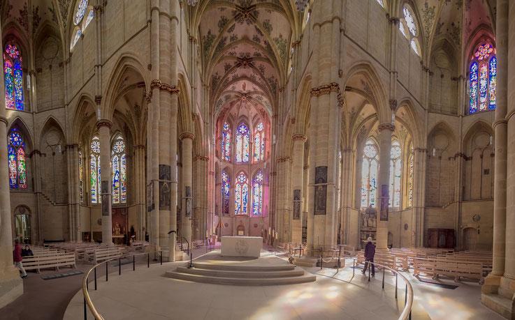Ein Panorama aus der Liebfrauenkirche