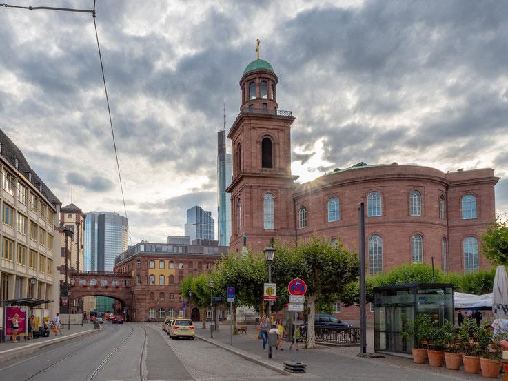 Die Frankfurter Paulskirche, hier tagte 1848 das erste deutsche Parlament