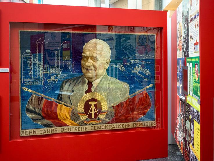 1959 - stalinistischer Personenkult zum 10 - jährigen Bestehen der DDR
