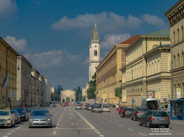 Ludwigstrasse, München, Universität,