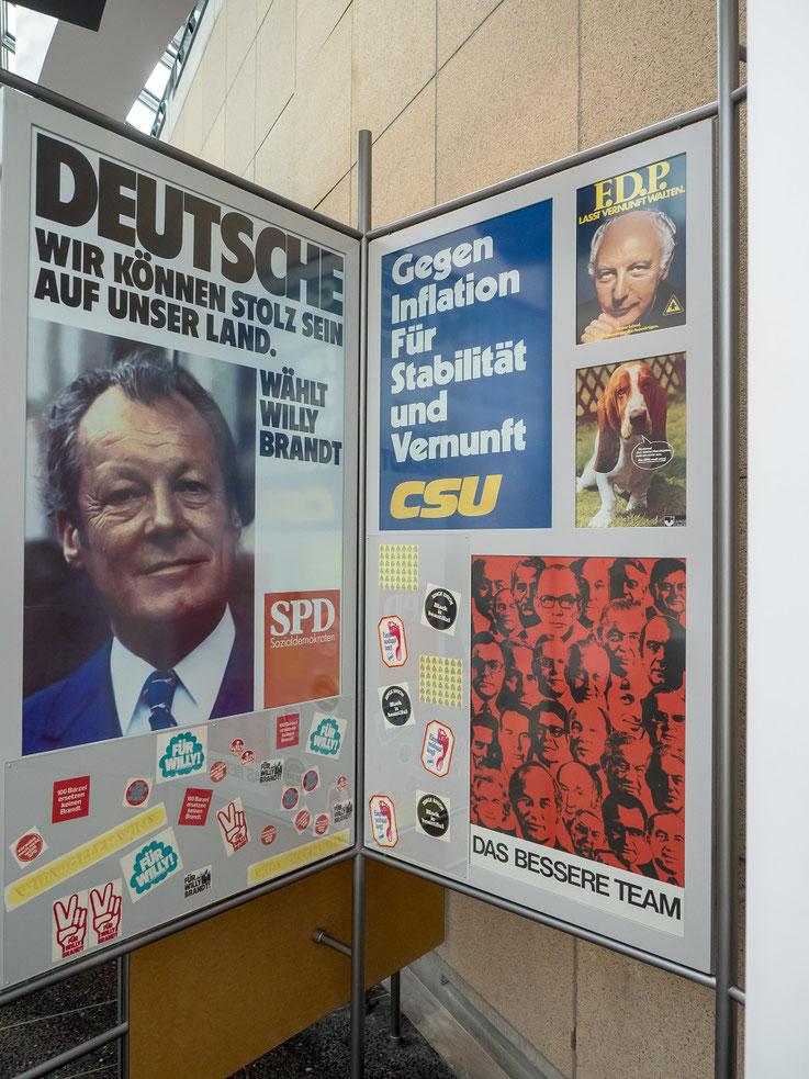 1972 - Es ging um Willy Brandt und die Ostverträge. Auch ich bin damals als Teenager für Brandt auf die Straße gegangen.