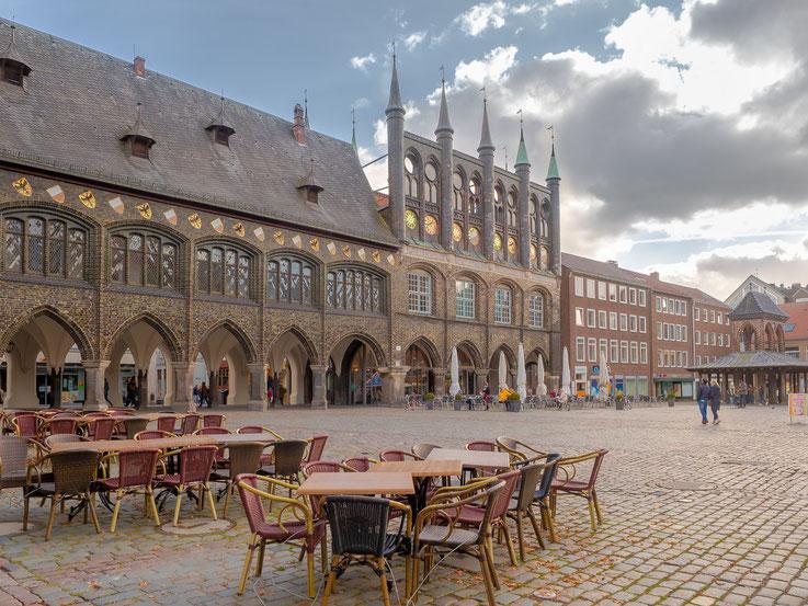 Das Rathaus Lübecks