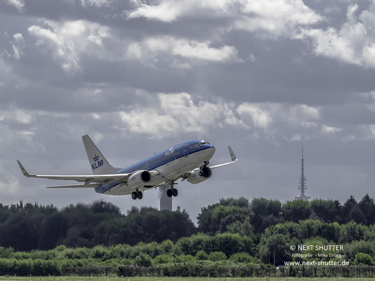 Eine Boeing 737 der KLM Royal Dutch Airlines