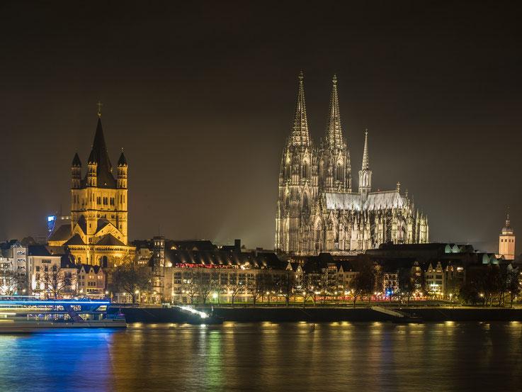 Immer wieder faszinierend : Der das Stadtbild beherrschende Dom.