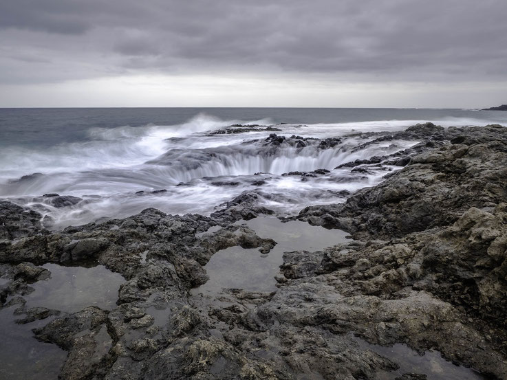 El Bufadero in La Garita and der Westküste Gran Canarias / El Bufadero located in La Garita at the westcoast of Gran Canaria