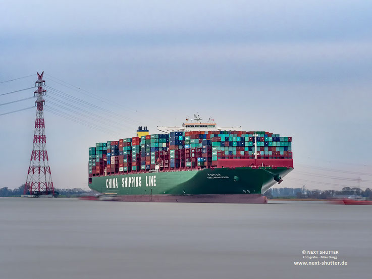 Strandung CSCL Indian Ocean